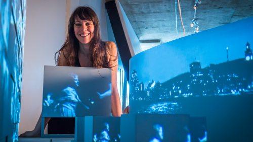 Maquette avec Karine Lanoie-Brien - (ONF)